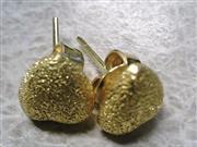 Gold Earrings 22K Yellow Gold 3.14g